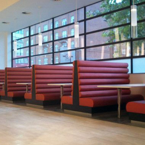 seattle restaurant upholstered benches