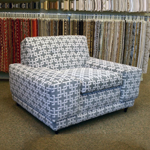 1930s square armchair